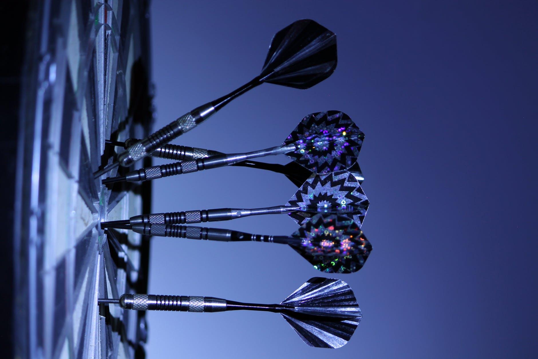 playing game royalty free darts