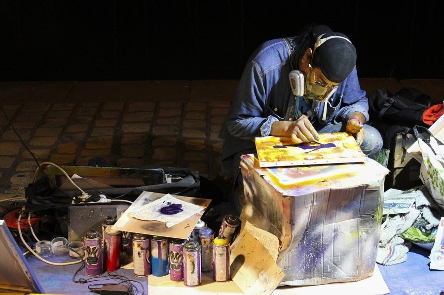 street-artist-1279977_1280